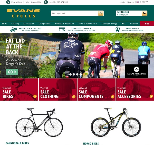 evanscycles