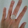 jdljewelleryの指輪 サイズもちょうどよく、仕上がりもとても素敵で、本当にありがとうございました。
