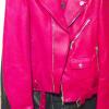 ヴェルサーチのライダースジャケット またよろしくお願いします。やはり革の質がちがいます。