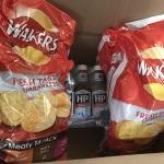 HPソース、クリスプス 普通にロンドンのスーパーで購入できる物ですが知人に頼み海外送金したり、お礼をしたりの手間がなく格安の手数料で利用できるUKブランドセンター様に感謝です。