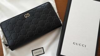 gucciのラウンド財布 本日無事に商品受け取りました。