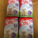 COW&GATE 初めて赤ちゃんのミルク頼んで、無事に届いております。迅速丁寧なご対応ありがとうございます。