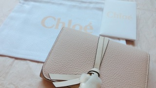 chloeの財布 先ほど荷物が届きました。問い合わせから見積もりまで、迅速な対応を頂きありがとうございました。