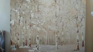 ローラアシュレイのウォールアートが無事に届きました。これからも毎回シーズンごとにお願いしようと思います。